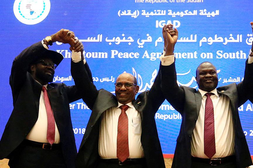 In South Sudan, it's déjà vu all over again