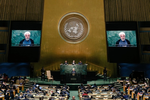Iran Plays 'Who's the Rogue Now' at the United Nations