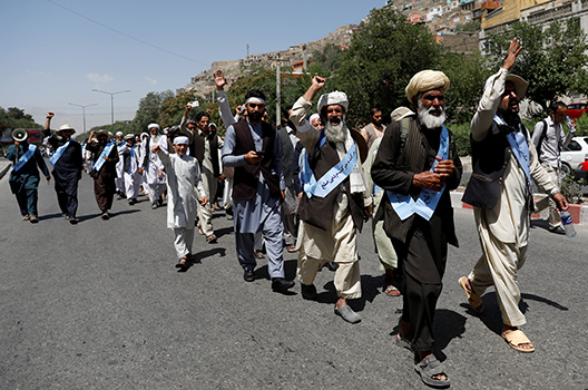 The war for peace in Afghanistan