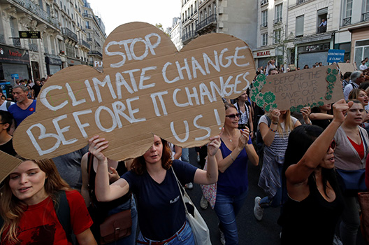 Climate leadership in uncertain times