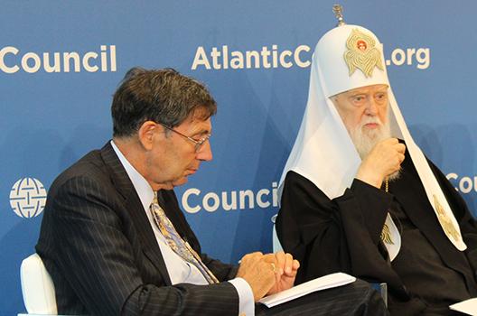 Ukrainian patriarch warns Russia will exploit split in Orthodox Church