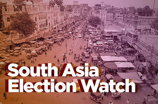 South Asia Election Watch