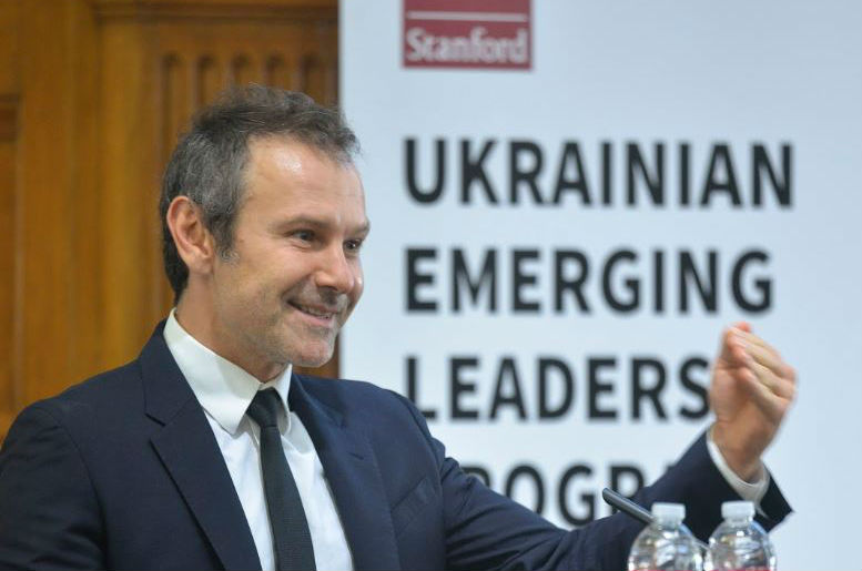 Vakarchuk Says Ukraine Needs New Leaders, But Will He Be One?