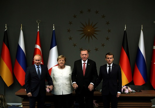 In Istanbul, geopolitical maneuvering but no progress