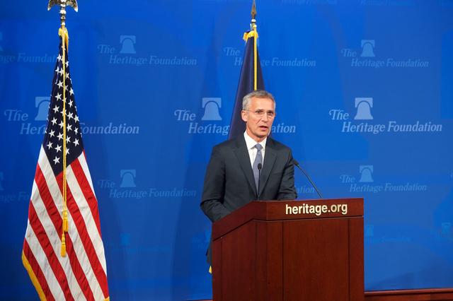 Stoltenberg: 'NATO Allies Boost America's Military Power'