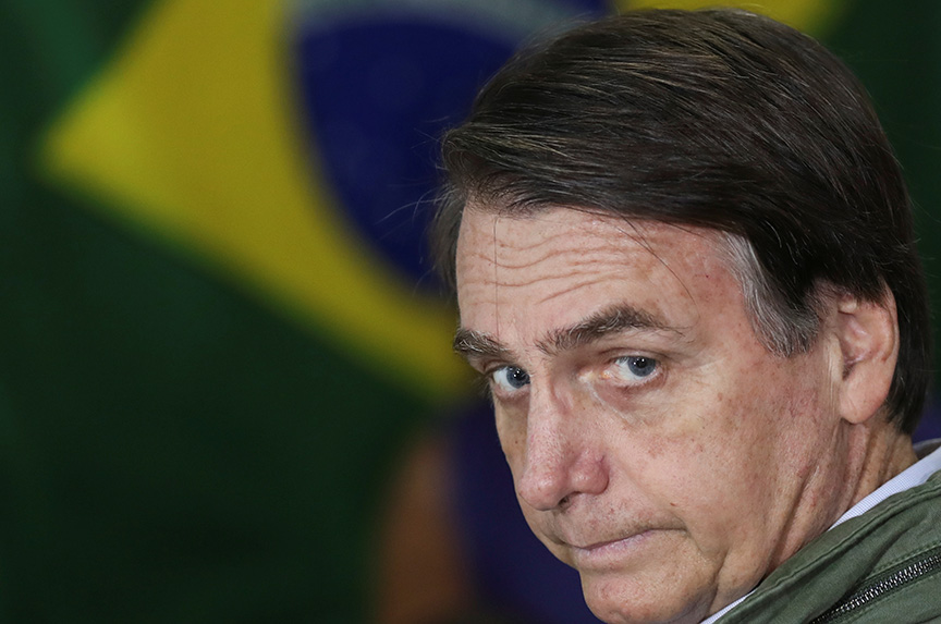 Led by leftists Since 2003, Brazil could soon get a far-right president