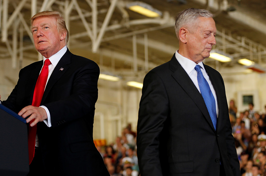 This is what a post-Mattis Pentagon will look like