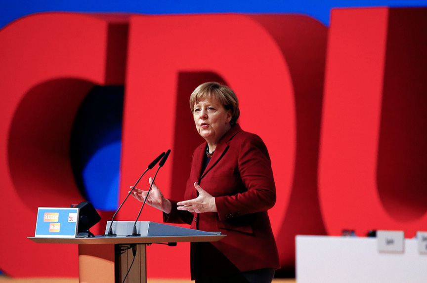Angela Merkel will not seek re-election as Germany's chancellor in 2021