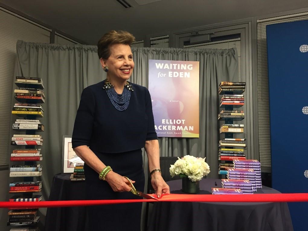 Waiting for Eden Book Celebration & Launch of the Adrienne Arsht Center for Resilience Bookshelf