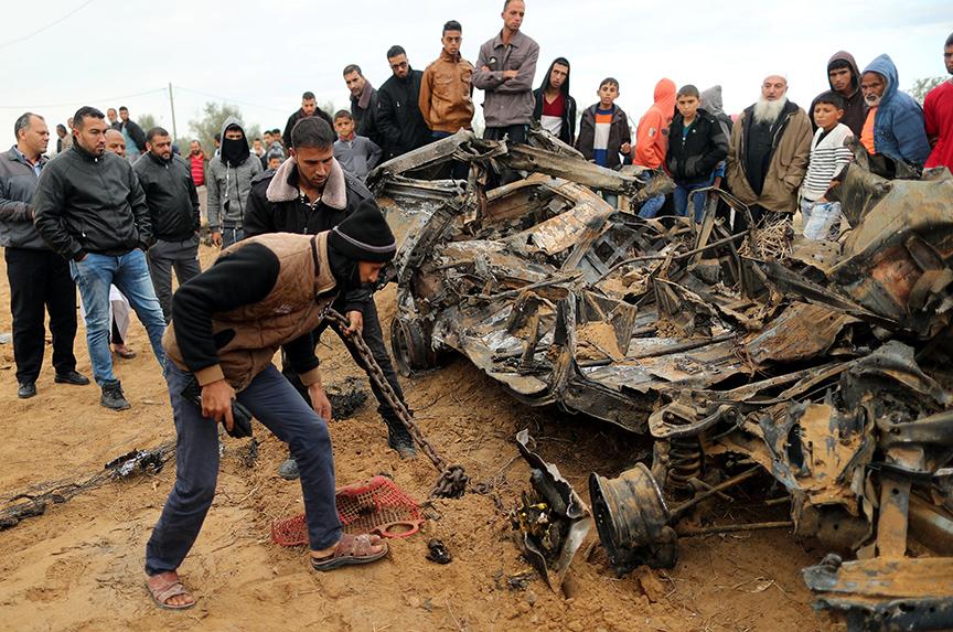 Violence erupts between Gaza and Israel