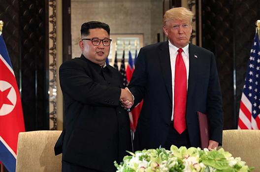 Trump should not let North Korea missile report get to him
