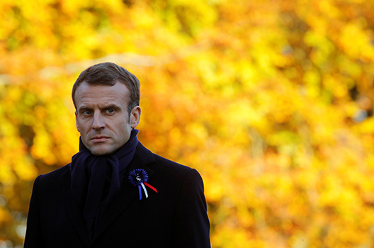 World War I commemoration gives Emmanuel Macron an opportunity to shine
