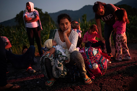 Violence against women driving migration from the Northern Triangle