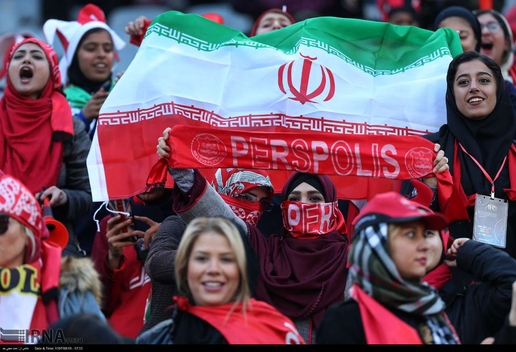 Iranian Women Demanded 'Open Stadiums' for a Long Time