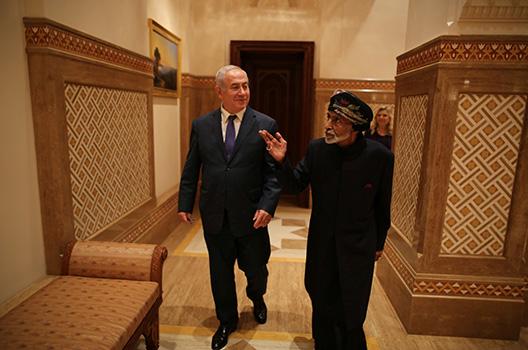 Israel seeks to bridge the Gulf