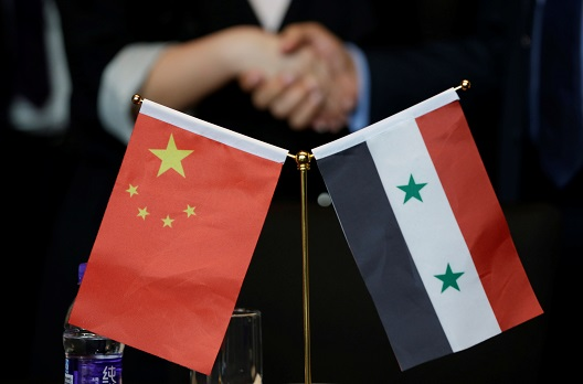 Chinese strategic engagement with Assad's Syria