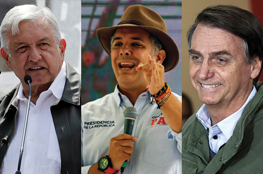 Five takeaways from Latin America's presidential elections in 2018
