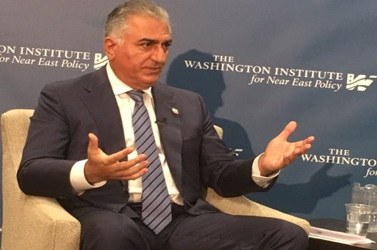 Son of the Shah says he has not met Trump administration officials