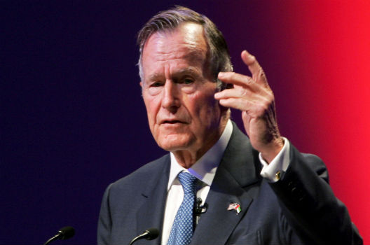 President George H.W. Bush had 'the vision thing' in spades