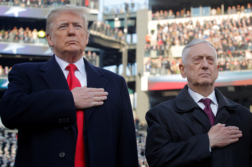Mattis out. What now?