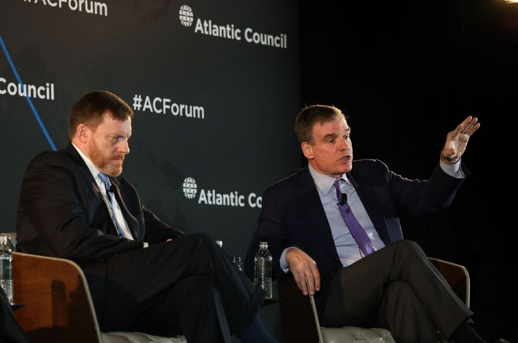 US Sen. Mark Warner and Adm. Michael Rogers make the case for cyber security