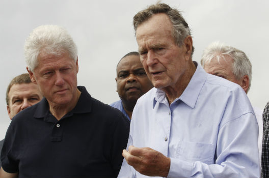 That time George H.W. Bush told Bill Clinton he could not have 'Asked for a better partner' on tsunami relief