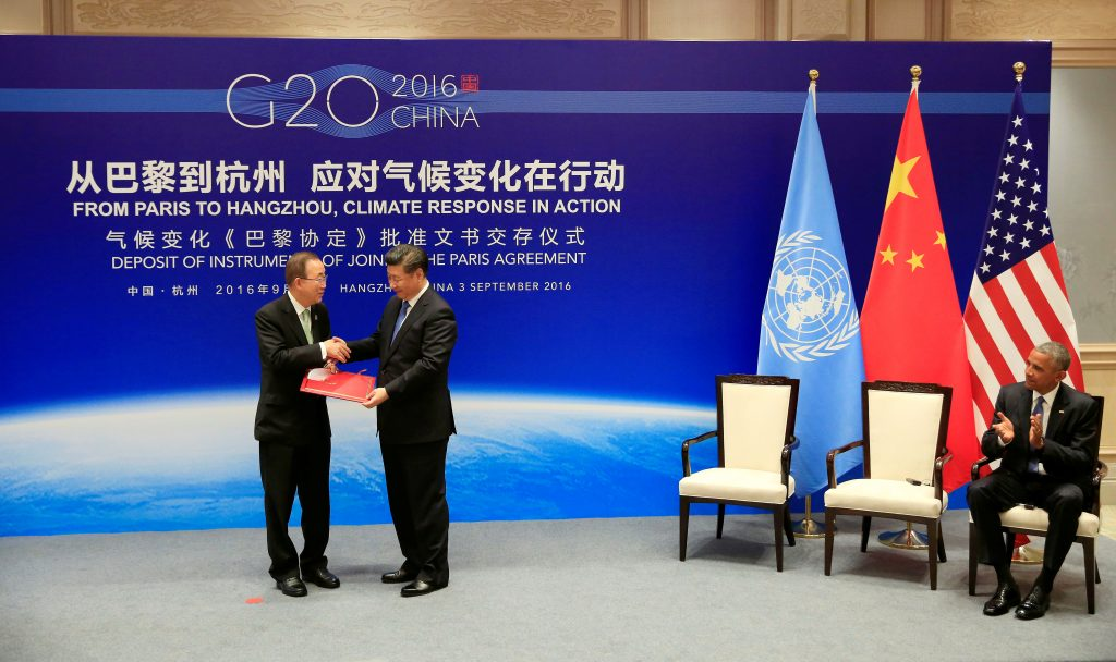 From Paris to Beijing: Implementing the Paris Agreement in the People's Republic of China