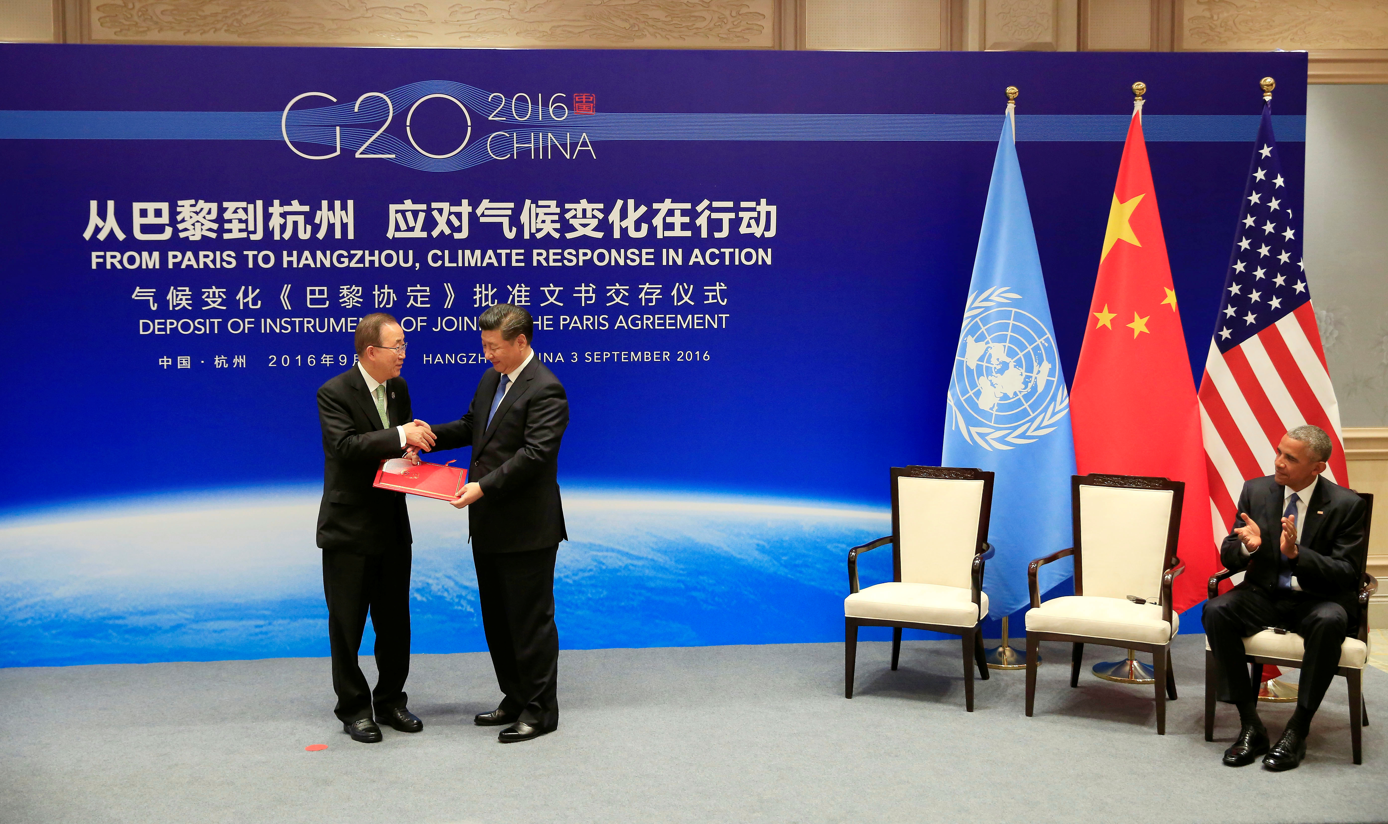 Is China A Part Of The Paris Agreement