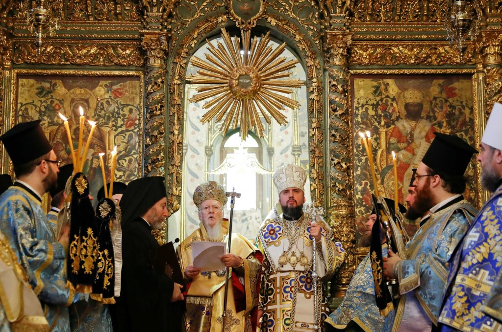 Ukraine's New Orthodox Church Free from Moscow but Fight Isn't Over