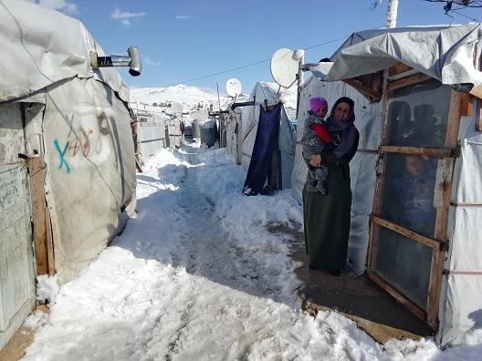 Winter storm in Arsal, Lebanon devastates vulnerable Syrian refugee communities