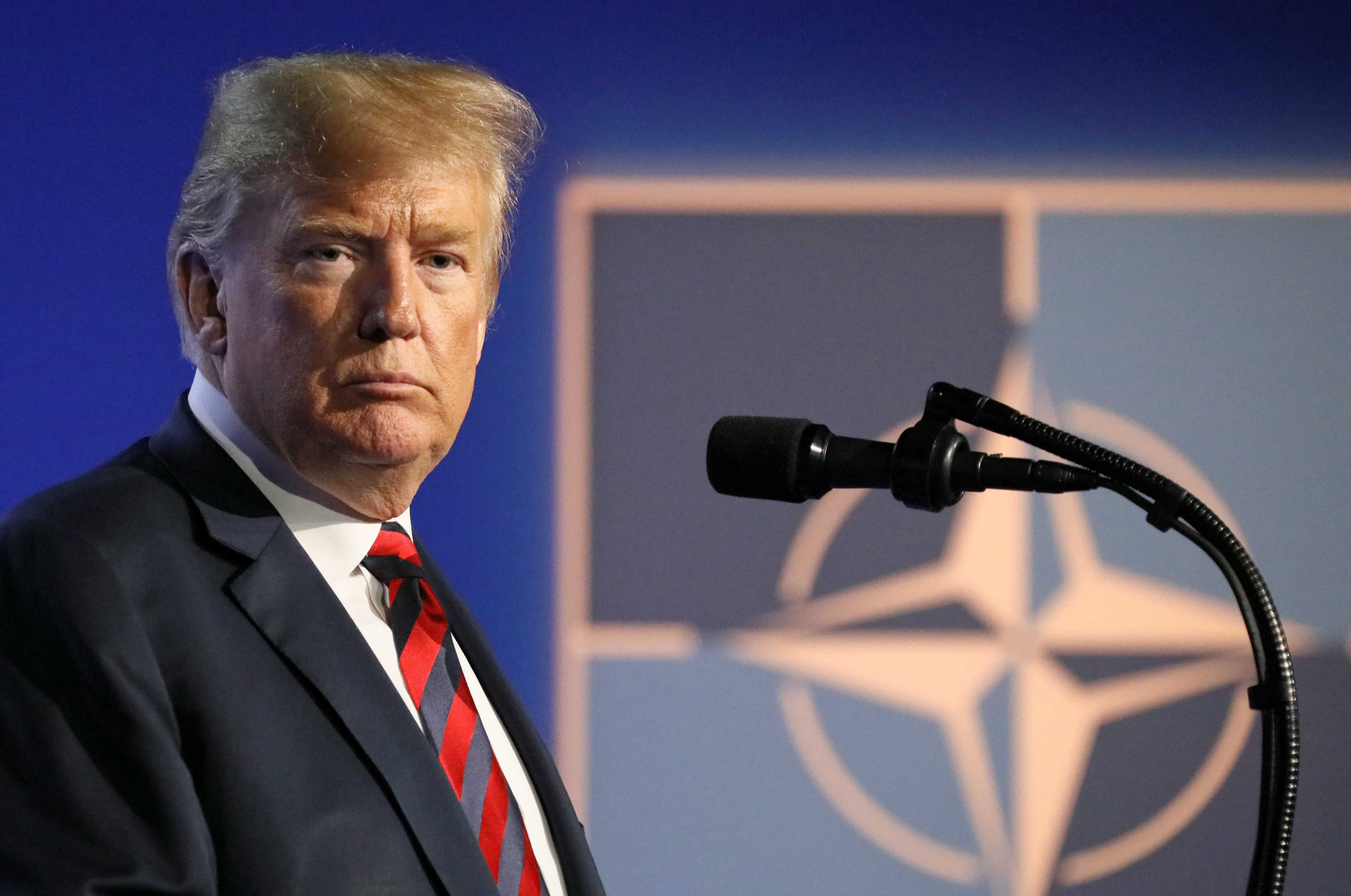 Image result for trump and NATO