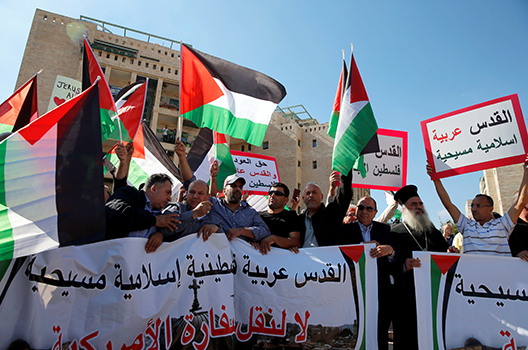 US pressure on the Palestinians must not come at the cost of security