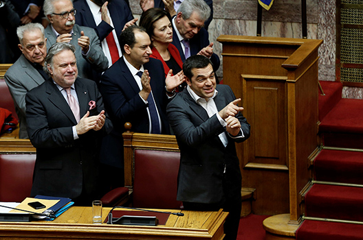 Greek Parliament approves Macedonia name change deal