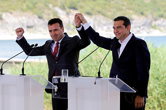 A 'monumental day for the Western Balkans'