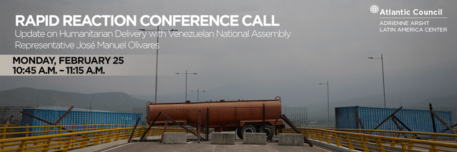 Rapid Reaction Conference Call: Update on Humanitarian Delivery