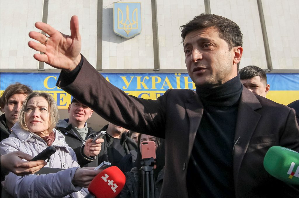 Why Zelenskiy Is the Only Decent Choice for Ukraine