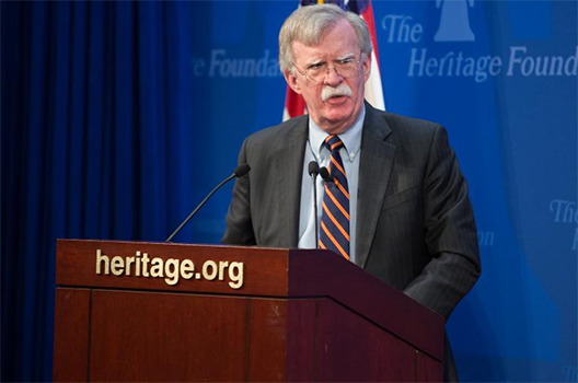 Bolton's risky bet in the Sahel