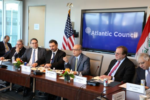 Roundtable with Iraqi Foreign Minister H.E. Mohamed Alhakim