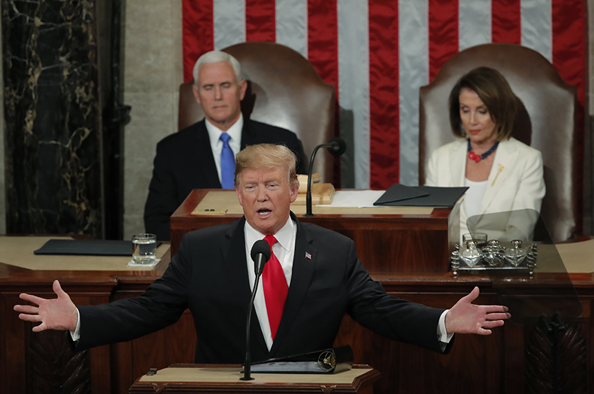 Trump's State of the Union and what we have to say about it