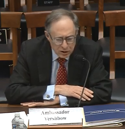 Ambassador Vershbow Testifies Before House Committee on Armed Services on INF Withdrawal and the Future of Arms Control