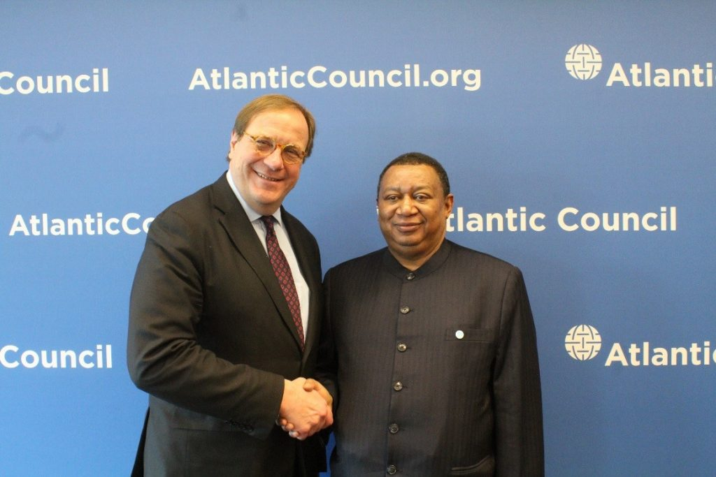 Atlantic Council Luncheon with OPEC Secretary General H.E. Mohammad Barkindo