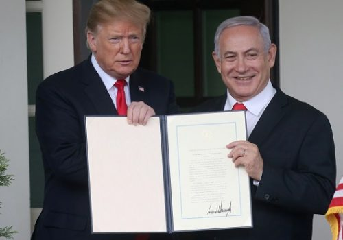 US-Palestinian relations and aid cuts, impact Israel's security