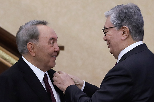 Nazarbayev's resignation is a sign of strength