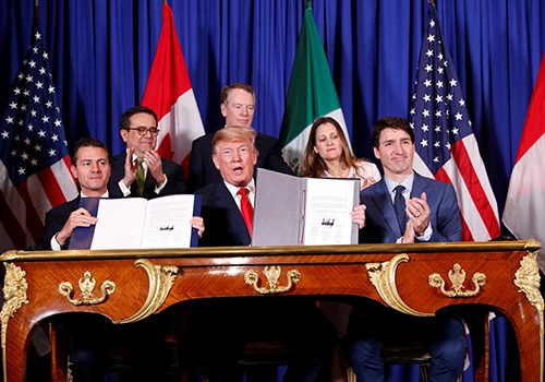 Back to the future on trade with the USMCA