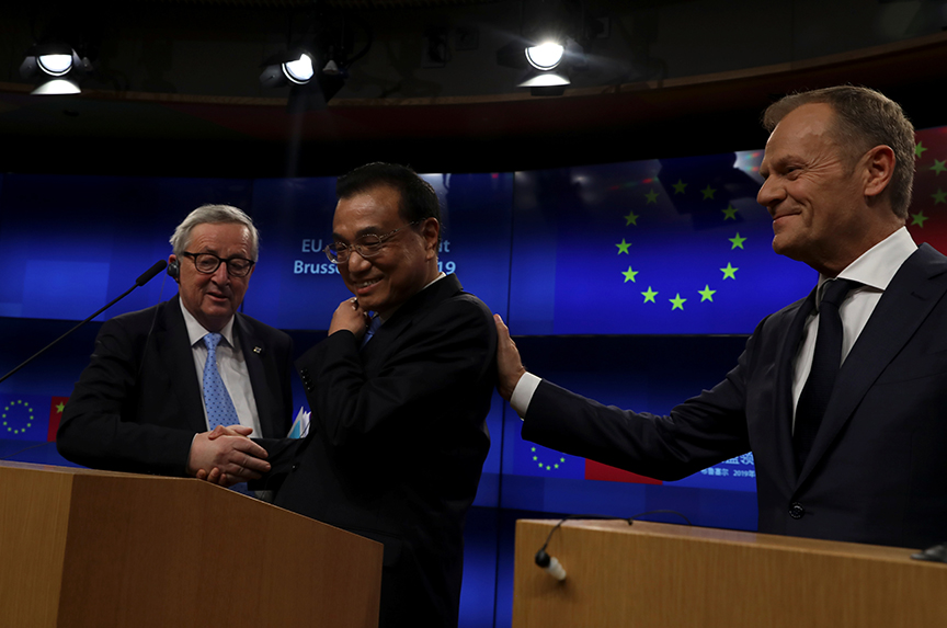 EU, China agree to deepen trade ties