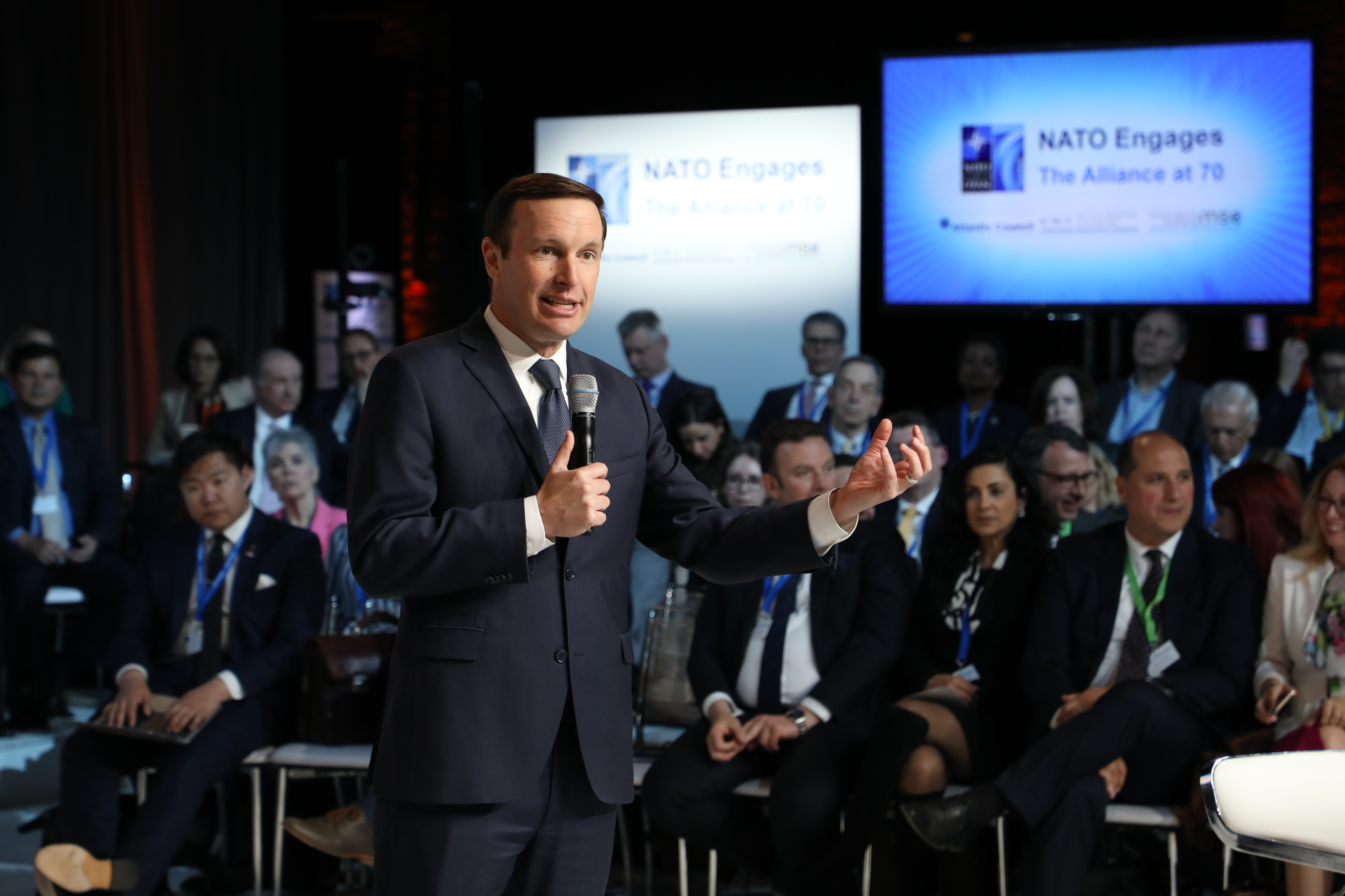 US Sen. Chris Murphy warns allies to be vigilant about the 'quiet things' Russia is doing