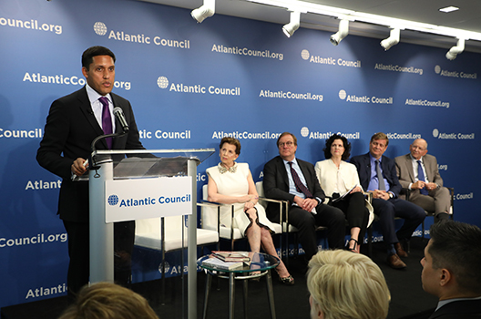 Atlantic Council launches Adrienne Arsht-Rockefeller Foundation Resilience Center
