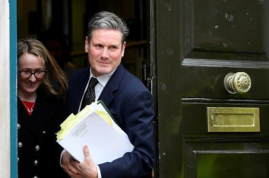 Brexit breaks Britain's parties