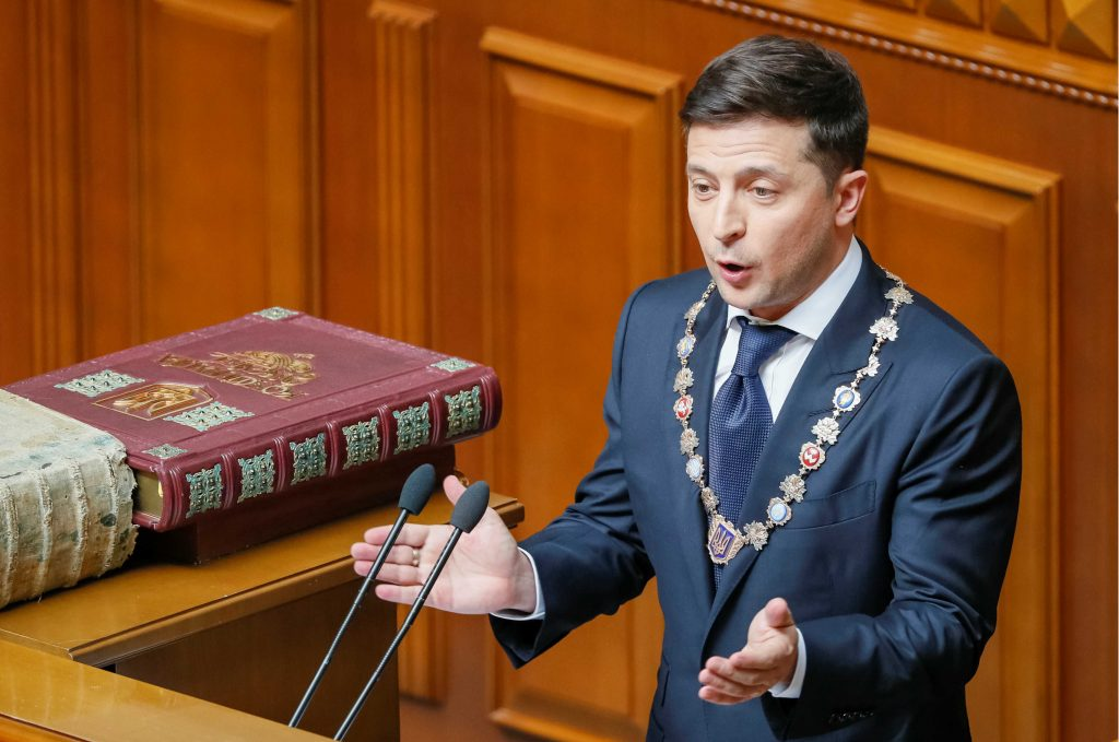 Q&A: Ukraine's got a new president. How did he do on inauguration day?