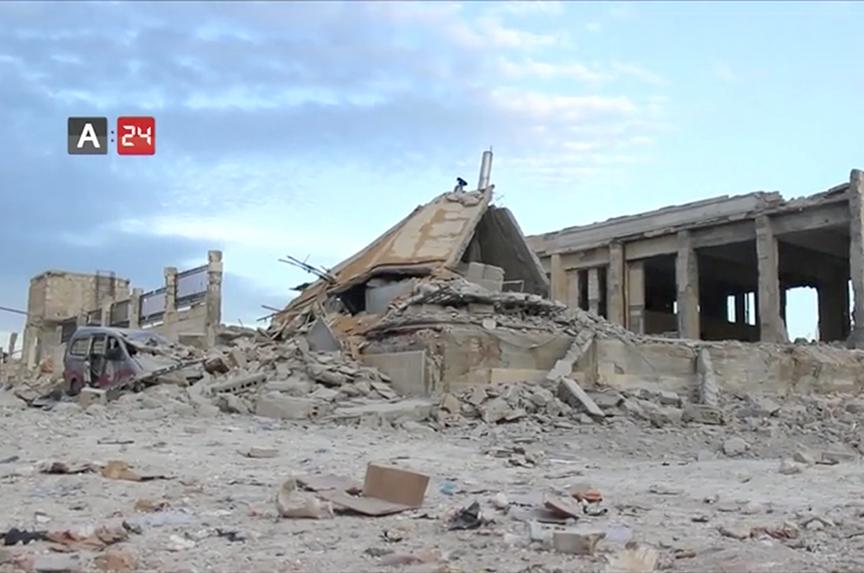 In Syria, civilians again on the bullseye